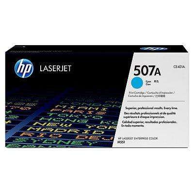 Cartus Laser HP 507A Cyan