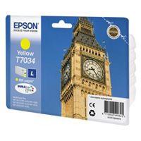 Cartus Inkjet Epson Yellow T7034(0.8K) pentru WP4000/4500