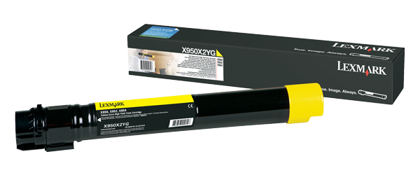 Cartus Laser Lexmark Yellow pentru X95x (22k)