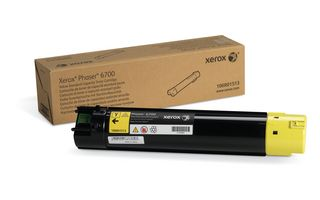 Toner Yellow standard (5000 pag) pentru Xerox Phaser 6700
