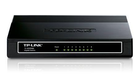 Switch Tp-Link TL-SG1008D fara management fara PoE 8x1000Mbps-RJ45