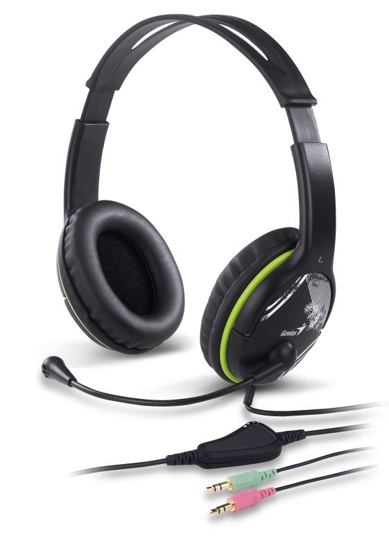 Casti Genius HS-400A Green