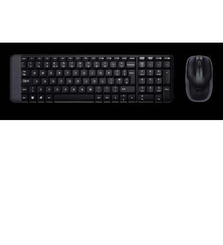 Kit Tastatura & Mouse Logitech MK220 Wireless