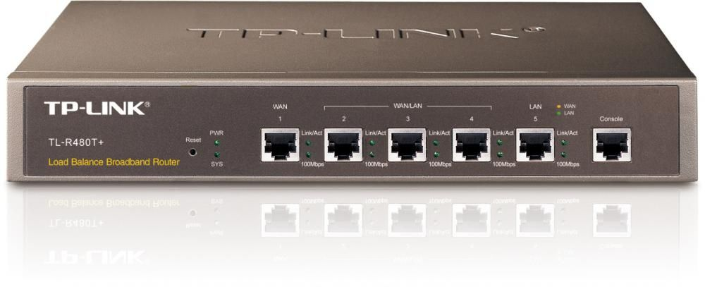 Router Tp-Link TL-R480T+ WAN: 1xEthernet fara WiFi