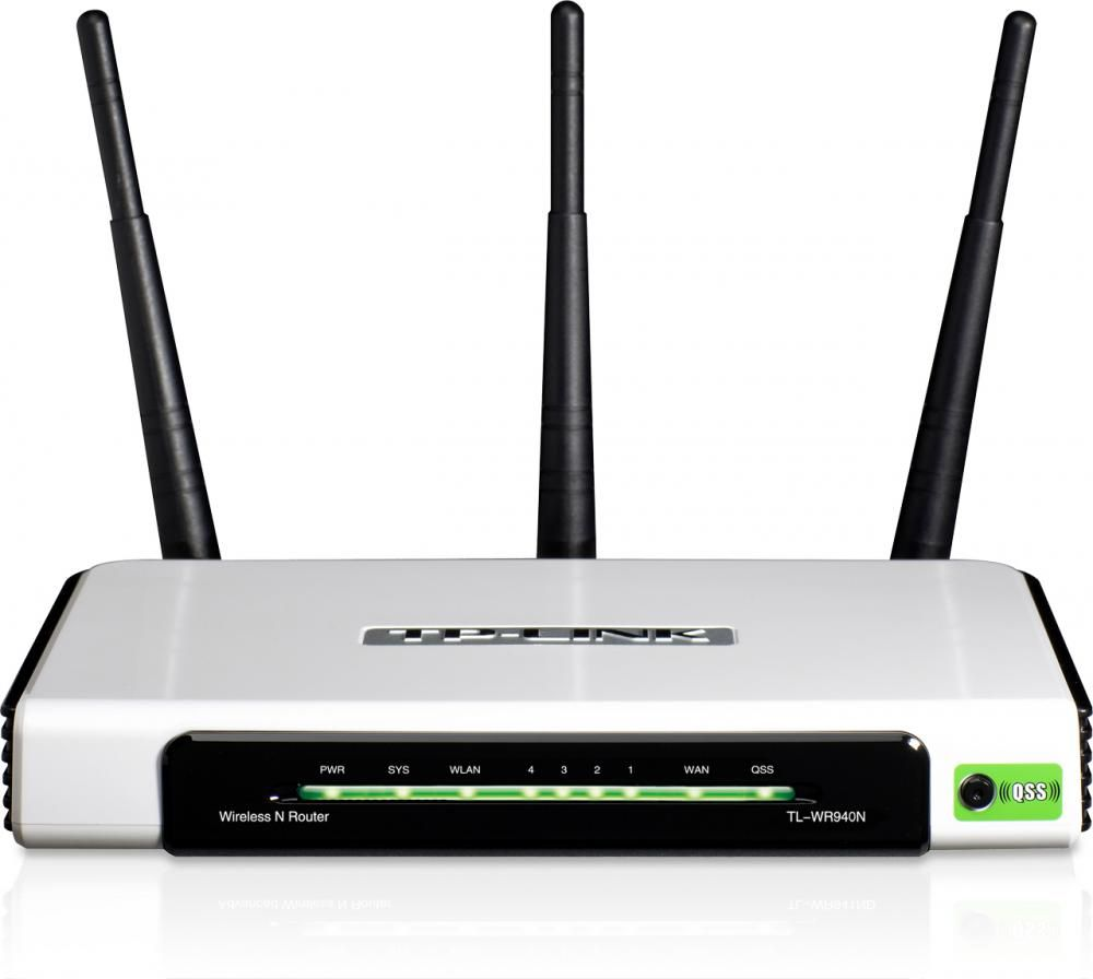 Router Tp-Link TL-WR940N WAN: 1xEthernet WiFi: 802.11n-300Mbps