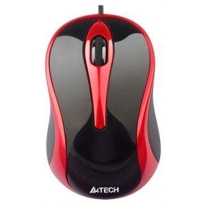 Mouse A4Tech N-250X-2 V-Track Negru-Rosu