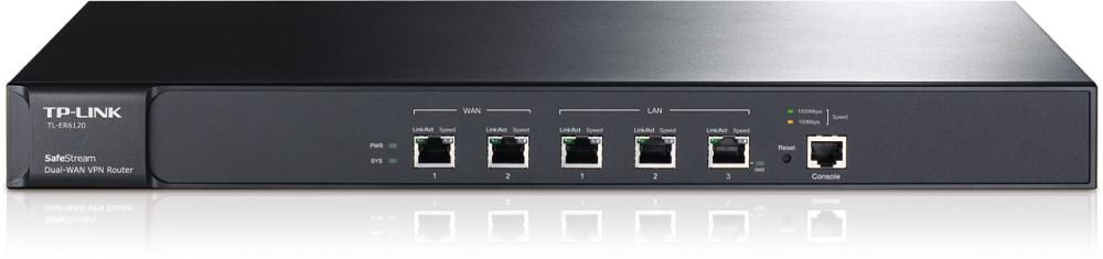 Router Tp-Link TL-ER6120 WAN: 2xGigabit fara WiFi