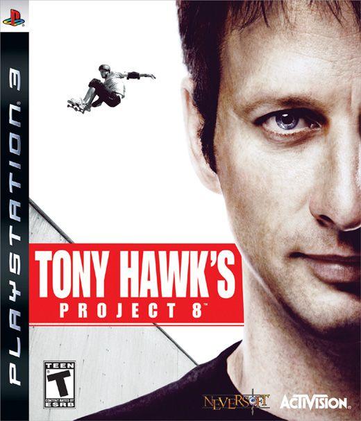 Tony Hawk's: Project 8 (PS3)