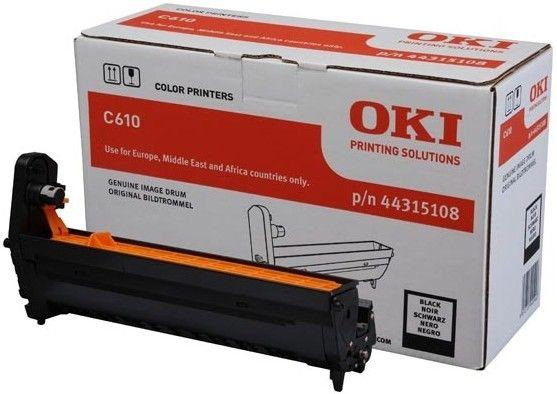 Cilindru Oki Black pentru C610 (20K)