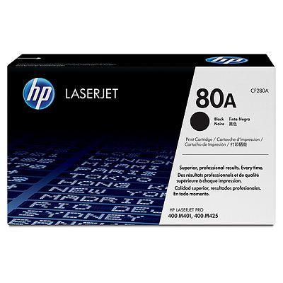 Cartus Laser HP Black 80A (2.7K)