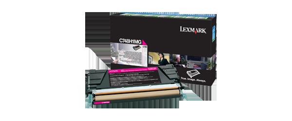 Cartus Laser Lexmark Magenta Return Program C748 (10K)