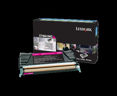 Cartus Laser Lexmark Magenta pentru X746 X748 (7k) Return Program