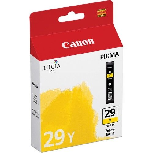 Cartus Inkjet Canon Matte Yellow PGI-29Y