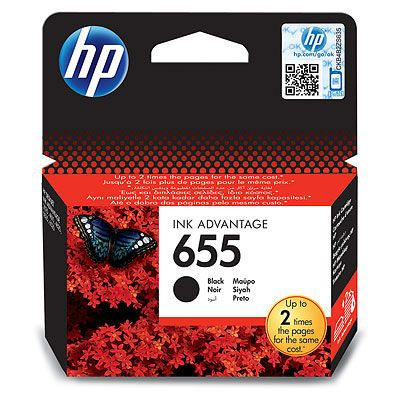 Cartus Inkjet HP 655 Black