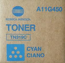 Toner Minolta cyan TN-319 BZC360 26k