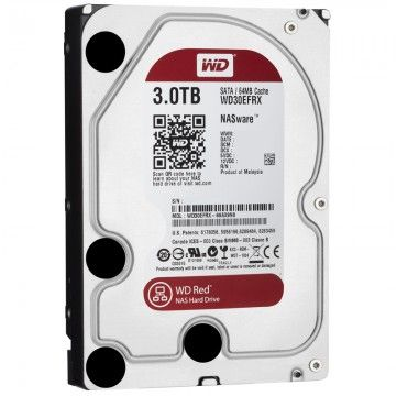 Hard Disk Desktop Western Digital Red 3TB SATA3 64MB pentru NAS