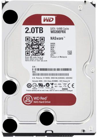 Hard Disk Desktop Western Digital Red 2TB SATA3 64MB pentru NAS