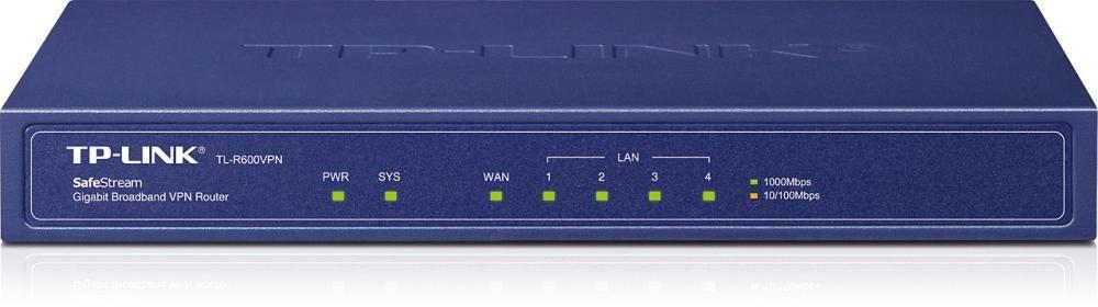 Router Tp-Link TL-R600VPN WAN: 1xGigabit fara WiFi