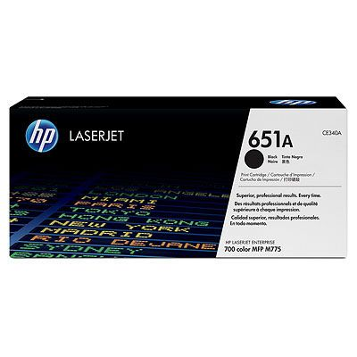 Cartus Laser HP Black 651A