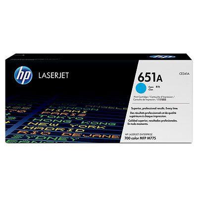 Cartus Laser HP Cyan 651A