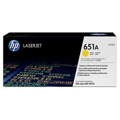 Cartus Laser HP Yellow 651A