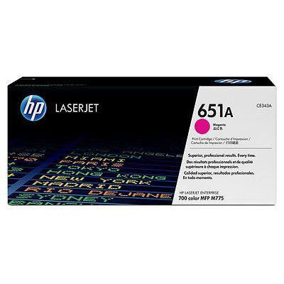 Cartus Laser HP Magenta 651A