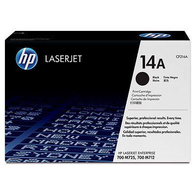 Cartus Laser HP Black 14A