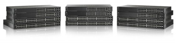 Switch Cisco SG500-52 cu management fara PoE 48x1000Mbps-RJ45 + 2x1000Mbps-RJ45 (sau 2xSFP) + 2xSFP