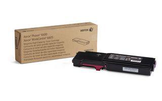 Cartus Toner Xerox pentru Phaser 6600 WorkCentre 6605 6000 pag Magenta