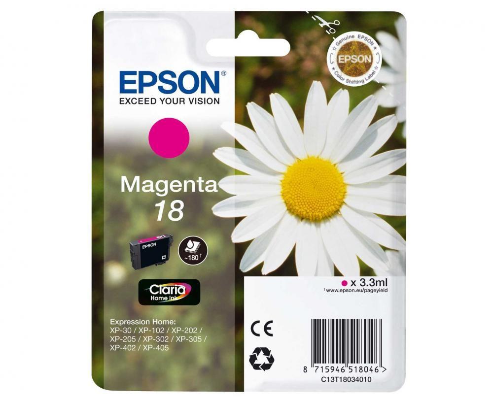 Cartus Inkjet Epson 18 Magenta T18034010