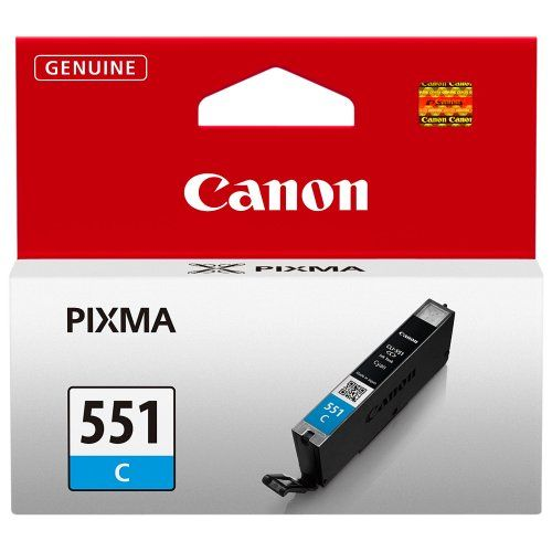 Cartus Inkjet Canon Cyan CLI-551C