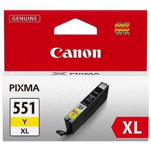 Cartus Inkjet Canon Yellow CLI-551XLY