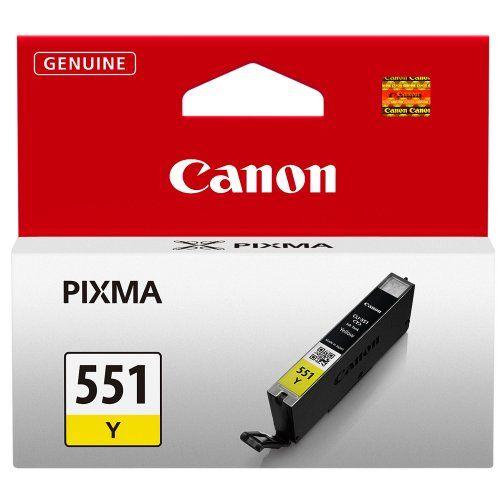 Cartus Inkjet Canon Yellow CLI-551Y
