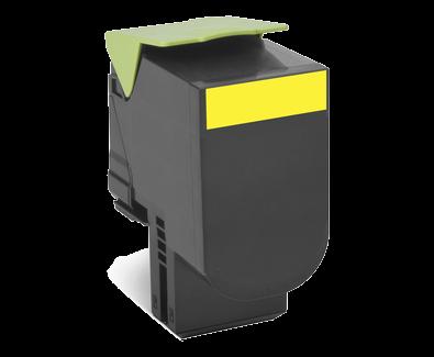 Cartus Laser Lexmark Yellow 702HY (3k) Return Program