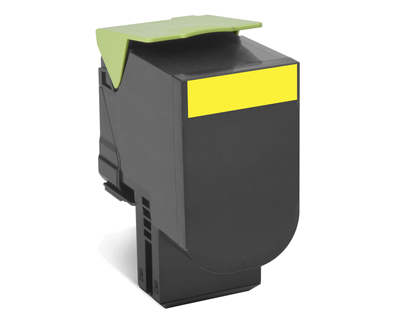 Cartus Laser Lexmark 802Y Yellow (1k) Return Program