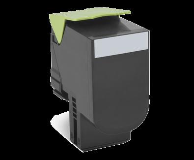 Cartus Laser Lexmark 802SK Black Capacitate Standard (2.5k) Return Program