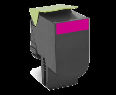 Cartus Laser Lexmark 800H3 Magenta Capacitate Mare (3k)