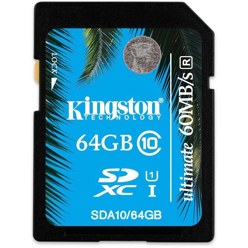 Card Memorie Kingston SDXC 64GB Clasa 10