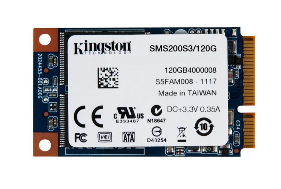 Hard Disk SSD Kingston mS200 120GB mSATA viteza citire/scriere - 550/520-MB/s