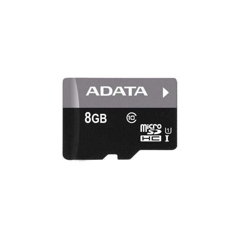 Card Memorie Adata Micro SDHC Premier 8GB UHS-I U1 + Adaptor SD