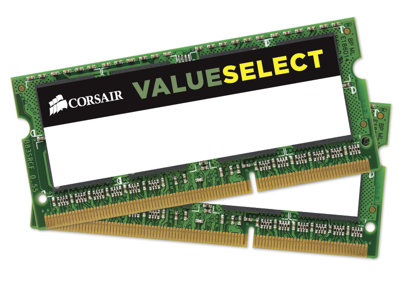 Memorie Notebook Corsair ValueSelect DDR3L-1600 8GB kit (2x4GB)