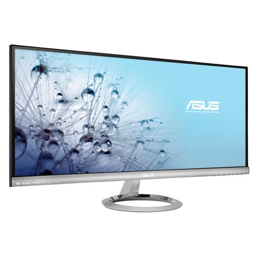 Monitor LED Asus MX299Q 29 Ultra HD Negru/Argintiu
