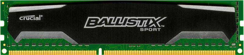 Memorie Desktop Crucial Ballistix Sport DDR3-1600 8GB