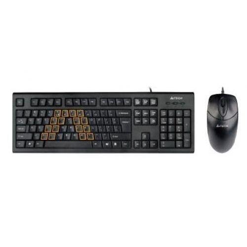 Kit Tastatura & Mouse A4Tech KRS-8572 USB