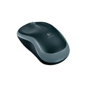 Mouse Logitech M185 Nano Cordless Black