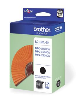 Cartus Inkjet Brother LC129XLBK MFCJ6920 2.4K Black