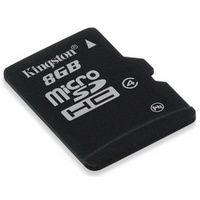 Card Memorie Kingston microSDHC 8GB Clasa 4