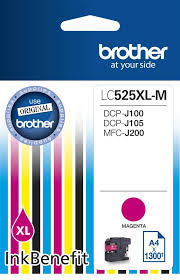 Cartus inkjet Brother Magenta LC-525XLM - High Yield