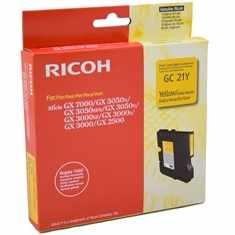 Cartus yellow RICOH pentru GX2500/GX3000/GX3000S/GX3000SF/GX3050N/GX3050SFN/GX5050N/GX7000
