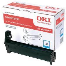 Kit Fotoconductor Cyan OKI pentru C5600/C5700 20K